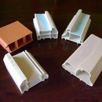 Buy cheap High impact resistance compound Sliding PVC Extrusion Profiles for Window from wholesalers