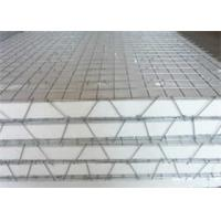 High Tensile Strength 3D Welded Galvanized Wire Mesh Panels For Construction Manufactures