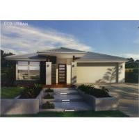 Small Family Beautiful Steel Structure Prefabricated Homes With Metal Security Door Manufactures
