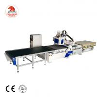 China double spindle Woodworking Machine 1325 Cnc Router with drilling automatic loading and unloading wholesale