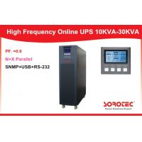 10-30KVA HP9335C Plus High Frequency Stable Pure Sine Wave Online UPS Manufactures