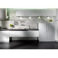 China Creamy White Plywood Home Kitchen Cabinets Lacquer Painting Canada Style wholesale