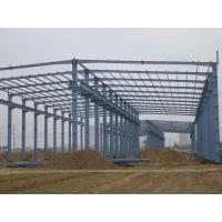 Prefab Agricultural Steel Frame Buildings , Long Span Steel Structures With Sandwich Panels