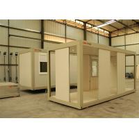 Flat Pack Prefab Container House Windproof With CE AS CSA Standard Manufactures