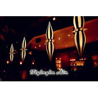 Buy cheap Customized Decorative Party Light, Hanging Inflatable Cone for Sale from wholesalers