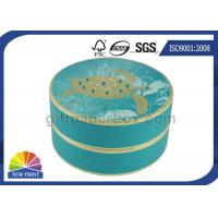 China Personalized Luxury Cylindrical Rigid Gift Boxes Round Cardboard Boxes for Gift Packs on sale