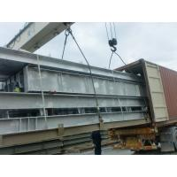 Galvanized Warehouse Steel Structure With AWS and BS EN Standard Manufactures