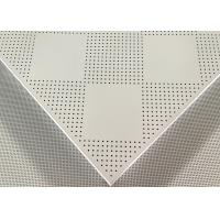 China Zinc Coated Suspended Metal Ceiling Galvanized Steel Iron Clip In Ceiling Tiles wholesale