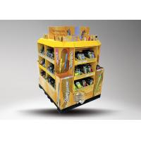 4 - side POS Floor Stationery Display Stand , Cardboard Pallet Display Stand Manufactures