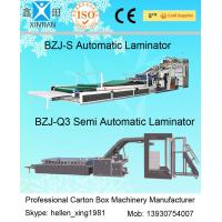 High Precision Automatic Lamination Machine 12kw For Paperboard , CE ISO Standard Manufactures