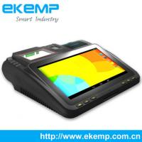 China China Supplier EKEMP Android POS System with RFID, Smart Card Reader, Thermal Printer, Touch Screen on sale