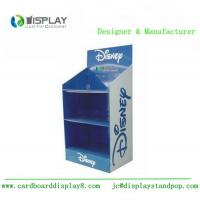 China manufacture wholesale 3 tiers cardboard display stands Manufactures