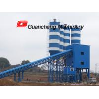 China Concrete mixing plant HLS90 / concrete mixing staton HLS90 with steel structure on sale
