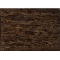 Buy cheap China  coffee purple polished brown marble paving stone slabs tiles from wholesalers