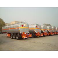 new air suspension truck fuel tanks semi trailer for sale with tool box Manufactures