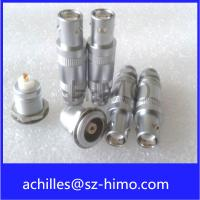 Buy cheap wholesale supplier single pin solder type push self-locking pull lemo 1S series coaxial connector from wholesalers