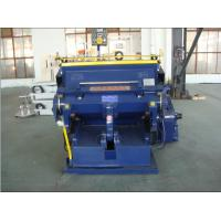 Big Pressure Corrugated Board Die Cutting And Creasing Machine With Low Noise Manufactures