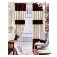 Customized Blackout Polyester Home Textile Products Modern Bedroom Window Curtain Manufactures