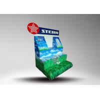 Recyclable Paper Cardboard Retail Display For Led Light Bulb , Pop up Display Stands Manufactures