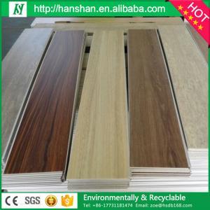 Quality assurance factory direct sale wood look commercial pvc vinyl flooring Manufactures