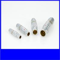 IP50 metal electronic push pull connector plug and socket FGGEGG lemo equivalent Manufactures