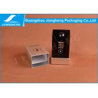 Rectangle Lid Separated Small Perfume Packaging Boxes With Black EVA Padding Manufactures