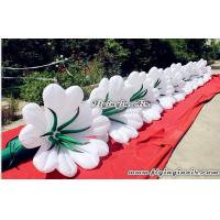 China Beautiful Inflatable Flower Chain for Events and Wedding Decoration wholesale