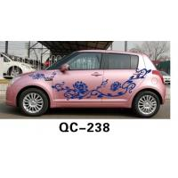 Nontoxic Car Body Sticker QC-238L / Novelty Car Decoration Manufactures