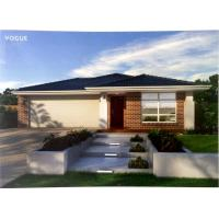 Double Garage Bungalow Modular Homes Snow Resistance , Light Steel Framing Manufactures
