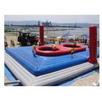 China Fireproof Inflatable Volleyball Court PVC Tarpaulin For School on sale