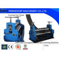 Corrugated Sheet Rotary Bender Corrugated Roll Forming Machine Thinckness 2mm - 4mm Manufactures