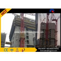 Tip Load 0.9T Internal Climbing Mobile Tower Crane Loading Capacity 3T