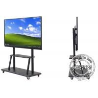 """50"""" Ultra Slim Education Video Wall Touch Screen 400cd / m2 Brightness Big Media Screen Manufactures"""