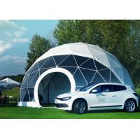 China Portable Economical Half Sphere Geodesic Dome Tent Fire Resistant With Decoration on sale