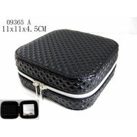 Recyclable Custom Zippered Mini Jewelry Box , Small Travel Jewelry Case Manufactures
