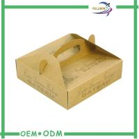 Custom Designed Corrugated Paper  Box With Handle Manufacture Manufactures