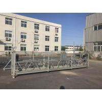 Buy cheap 220V / 60HZ Three Phase Aluminum ZLP800 Suspended Platform For Building Construction Work from wholesalers