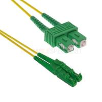 China FTTH E2000 Apc to SC / APC Patch Cord Duplex Fiber Optic Cable for network on sale