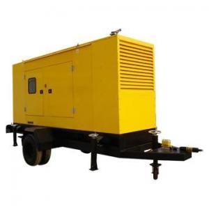 China CUMMINS Trailer Mounted Diesel Generator 80KW / 100KVA Low Fuel Consumption on sale