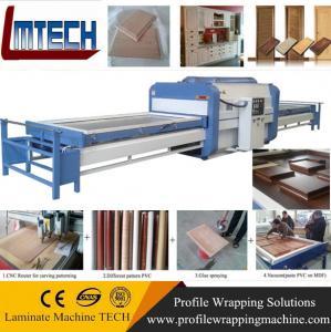 PVC veneer Vacuum Press Membrane Covering Machine Manufactures