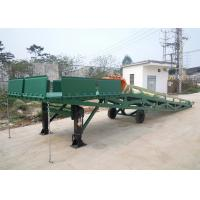 China Q235B Three Side 10 Tons Mobile Dock Ramp For Container Loading on sale
