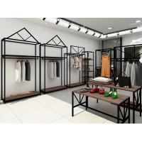 China Professional Retail Clothing Display Units Steel Display Shelves For Women Clothing Store on sale