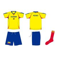 Sublimated Soccer Jersey, Football Kit Jerseys With Shorts and Socks Manufactures