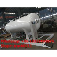 Buy cheap ASME 8m3 skid propane gas refilling plant for sale, hot sale 4MT skid mounted lpg gas tank for gas bottles cylinders from wholesalers
