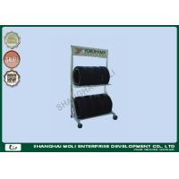 Two layers wall mount tire storage rack for trucks , industrial storage racking Manufactures