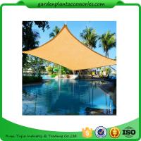 China Triangle Outdoor Sun Shade Sail / Waterproof Shade Sails 3 X 3m size2 4.5*4.5*4.5m size3 5*5*5m 180g/m on sale