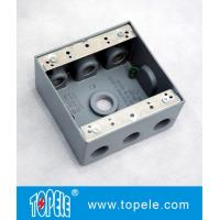 China 2 Gang Weatherproof Electrical Boxes Aluminum wholesale