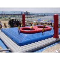 China Commercial Grade PVC Inflatable Volleyball Court Fire Retardant on sale
