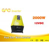 Low frequency 50hz/60hz off grid inverter Single output dc converter 2kw 24v 220v Manufactures