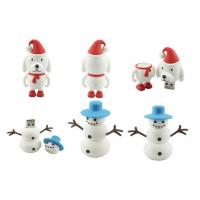 Novelty christmas gift ,Christmas dog snowman customized usb flash drive (MY-U259) Manufactures